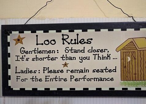 loo etiquettes