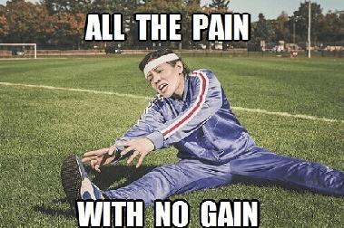 no weight loss despite exercise