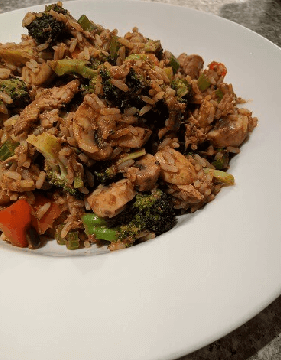 mixed veggie rice