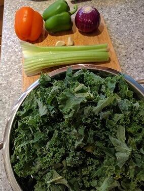 kale sauce ingredients
