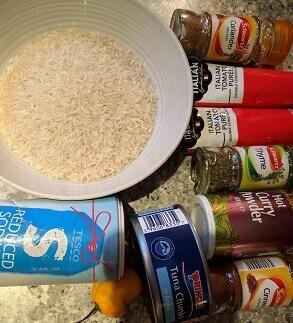veggie rice ingredients