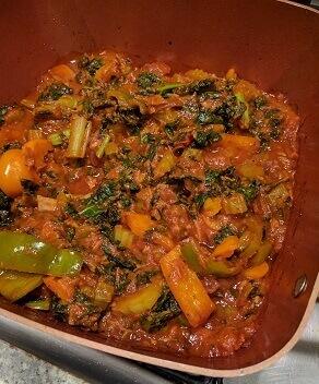 kale sauce
