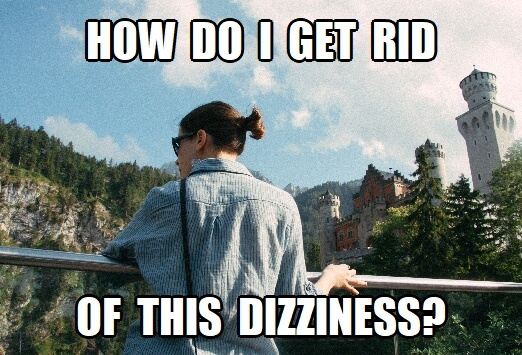 stop after eating dizziness