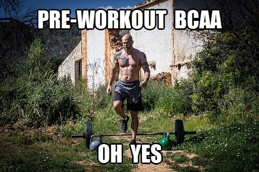how much bcaa should I take pre-workout