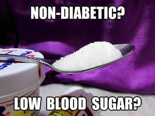 low blood sugar in non diabetics
