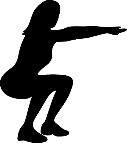 correct squatting position