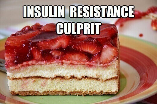 how does insulin resistance cause weight gain