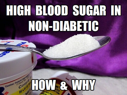 what causes high blood sugar levels in non-diabetics