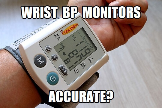 are wrist blood pressure monitors accurate