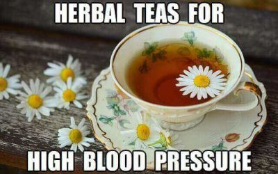 8 Herbal Teas for Lowering High Blood Pressure