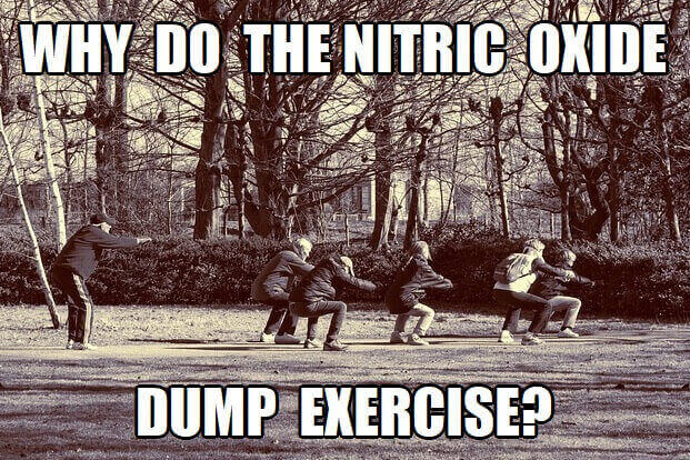 why do the nitric oxide dump