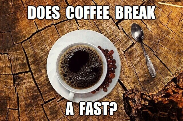 does coffee break a fast