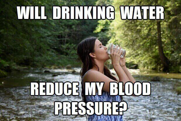 Does Drinking Water Reduce Blood Pressure? What About Dehydration & BP?