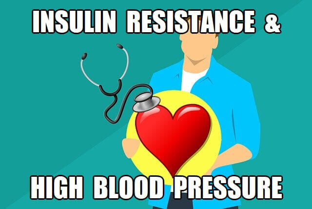 does insulin resistance cause high blood pressure